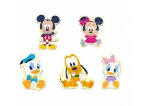 Dřevěné Disney puzzle Mickey a přátelé