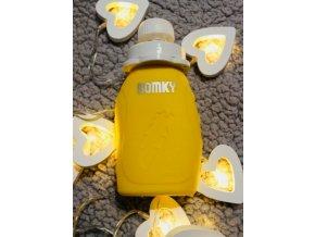 Domky Silikonová kapsička, 180 ml - žlutá - 1 ks