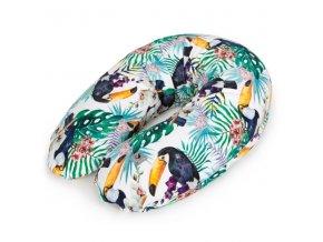 Ceba Kojící polštář 190cm - relaxační poduška Cebuška Physio Multi -Flora & Fauna Tucan
