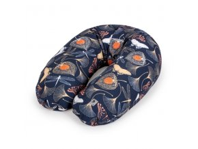 Ceba Kojící polštář 190cm - relaxační poduška Cebuška Physio Multi -Flora & Fauna Gingo