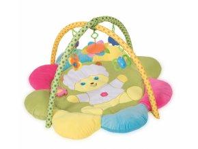 Lorelli Hrací deka Plush Play Gym Sheep s hrazdou s hračkami