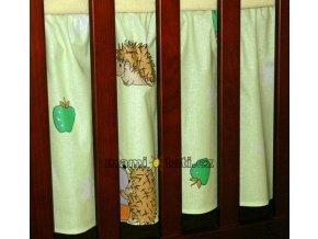 Mamo Tato Krásný volánek pod matraci - Ježek zelený
