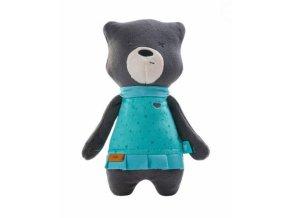 Szumisie Šumící mazlíček Medvídek Mia, 31 cm, grafitový