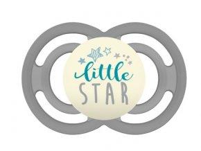 Symetrický dudlík Mam Perfect Night +6m s krabičkou - Little Star