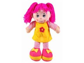 Tulimi Látková panenka Majka - růžové vlasy