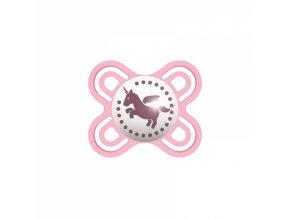 Mam Symetrický dudlík Perfect start 0 - 2 m - Jednorožec, růžový
