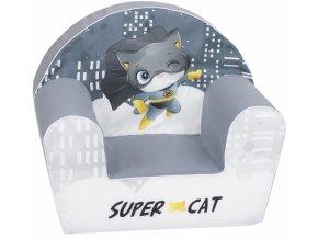 Delsit Dětské křesílko, pohovka - Super Cat