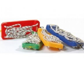 Eco toys Zahradní houpačka - deska, různé barvy