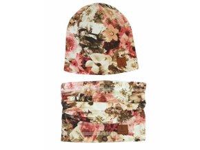 Bexa Jarní, podzimní čepice + komínek, Květy, pudrová