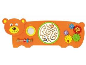 Viga Dřevěná nástěnná hra - Medvěd