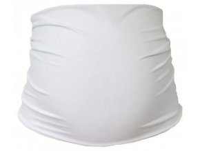 Be MaaMaa Těhotenský pás - bílá