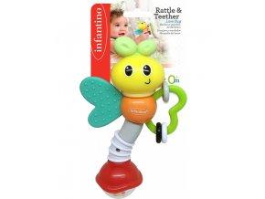 Infantino Chrastítko s kousátkem - Motýlek
