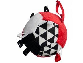 Hencz Toys Plyšový barevný balónek - červený