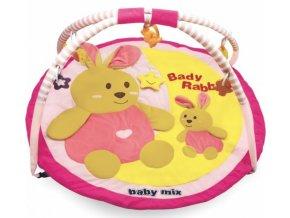 Hrací deka Baby Mix - KRÁLIČCI