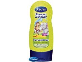 Bübchen dětský šampón a sprchový gel Džungle - 230ml