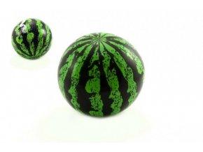 Míč nafouknutý meloun plast 20cm v síťce