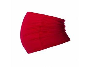 Be MaaMaa Těhotenský pás - červený, vel. L/XL
