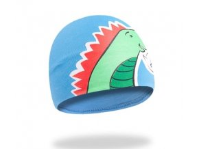 Bavlněná čepička YO ! Hi Dino - modrá