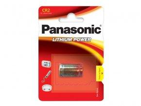 Baterie CR2 PANASONIC lithiová 1BP