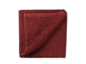 Ručník LADESSA 100% bavlna 50 x 100 cm burgundy