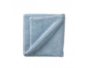 Ručník LADESSA 100% bavlna 50 x 100 cm ledově modrá