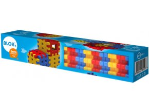 SEVA BLOK 1 Plastová STAVEBNICE v krabičce 40 dílků