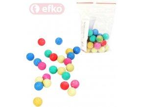 EFKO Kuličky pastelové nerozbitné v sáčku Těžký plast