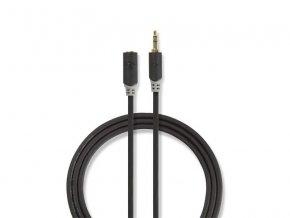 Kabel NEDIS JACK 3.5 konektor/JACK 3.5 zdířka 2m