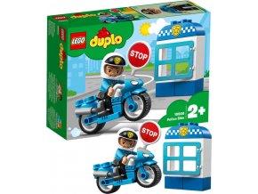 LEGO DUPLO Motorka policejní 10900 STAVEBNICE