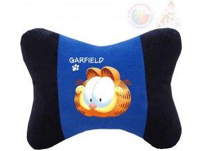 MORAVSKÁ ÚSTŘEDNA PLYŠ Autopolštář kocour Garfield 27x21x9cm