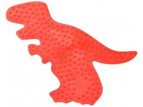 SES CREATIVE Podložka dino T-Rex pro zažehlovací korálky plast