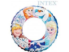 INTEX Kruh dětský nafukovací 51cm Fozen plavací kolo do vody 56201
