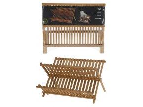 Odkapávač na nádobí bambus