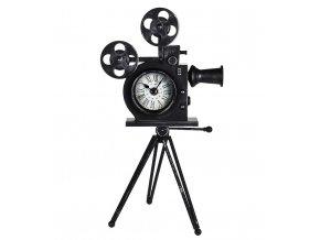 Hodiny stolní dekorativní RETRO kamera