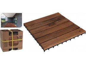 Dřevěné dlaždice terasové sada 9 ks akát