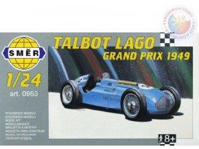 SMĚR Model auto Lago Talbot 1947 1:24 (stavebnice auta)
