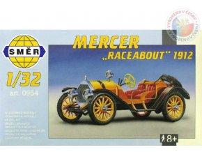 SMĚR Model auto Mercer Raceabout 1912 1:32 (stavebnice auta)