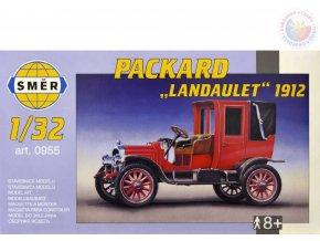 SMĚR Model auto Packard Landaulet 1912 1:32 (stavebnice auta)
