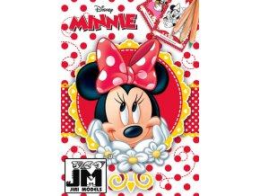 JIRI MODELS Omalovánky A5+ Disney Minnie Mouse