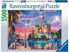 RAVENSBURGER Puzzle Moskva 1500 dílků 80x60cm foto skládačka