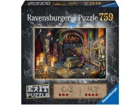 RAVENSBURGER Hra puzzle únikové Upíří hrad 759 dílků 70x50cm skládačka 2v1