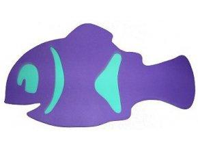 MATUŠKA-DENA Deska plavací rybka Nemo 40x22cm fialová 2 barvy
