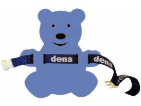 MATUŠKA-DENA Pás plavecký medvídek 28x30cm modro-červený