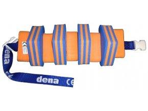 MATUŠKA-DENA Pás plavecký 60cm oranžový pruhovaný