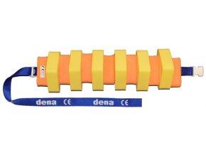 MATUŠKA-DENA Pás plavecký 130cm žluto-oranžový