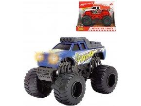 DICKIE Auto Monster Truck 15cm volný chod na baterie Světlo Zvuk 2 druhy