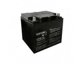 Baterie olověná 12V 40Ah VIPOW
