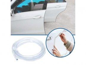 Ochranné lišty na auto 5 m - transparentní