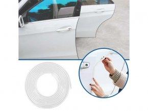 Ochranné lišty na auto 5 m - bílé