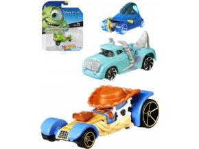 MATTEL HOT WHEELS Auto kultovní postavy Disney Pixar různé druhy